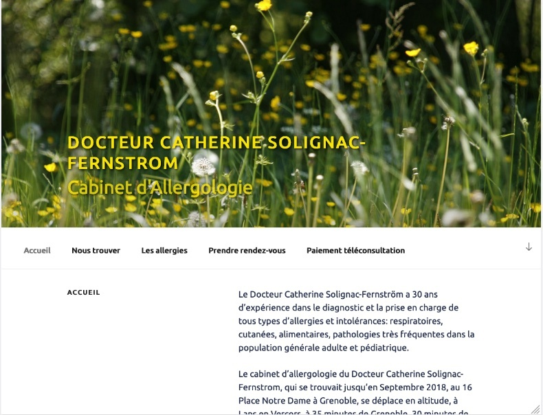 Site internet cabinet médical