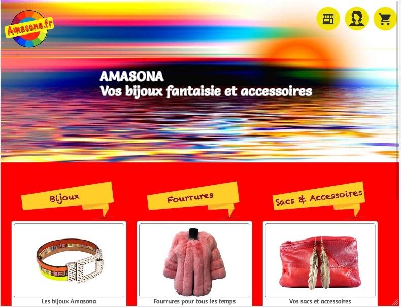 Boutique en ligne d'accessoires de mode