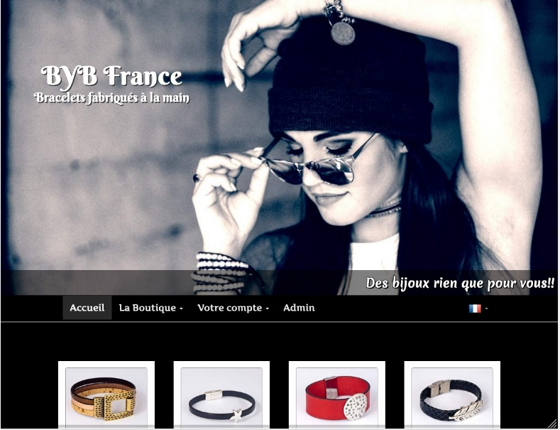 Site internet fabricant de bijoux