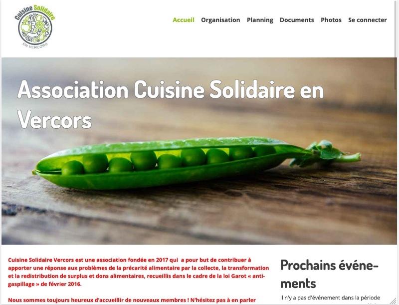 Site internet association caritative