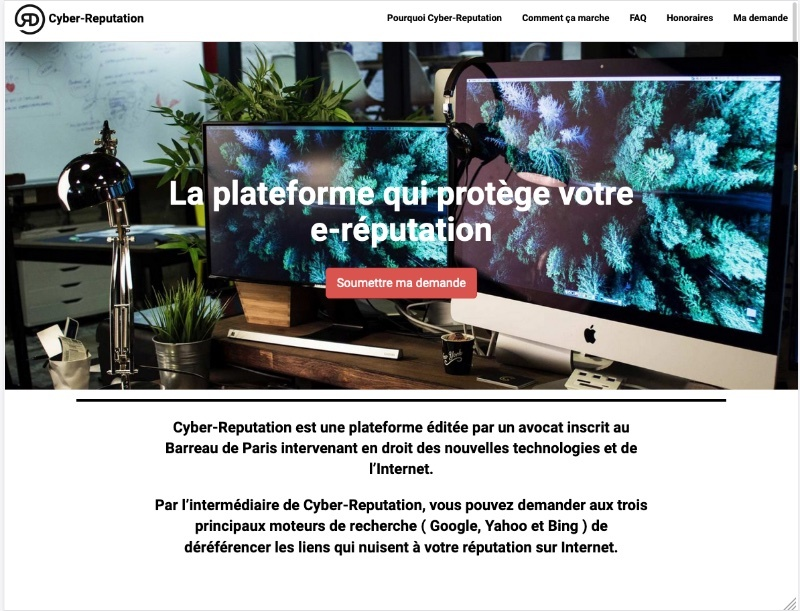 Site internet cabinet d'avocat