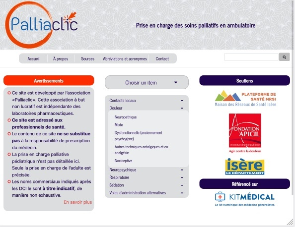 Site internet pour medecins