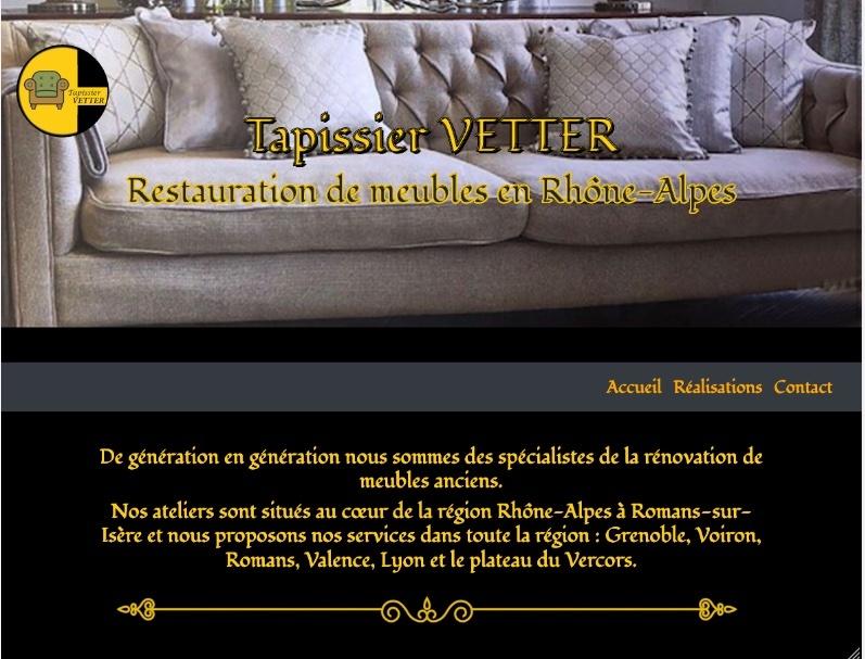 Site internet pour tapissier